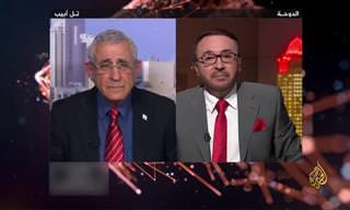 """ד""""ר מרדכי קידר מכה שנית ומסביר לעם הערבי את האמת על ירושלים!"""