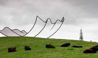 פארק הפסלים הפרטי בניו זילנד