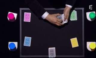 קסם קלפים צבעוני כזה עוד לא ראיתם!