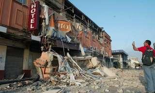 תמונות מדהימות מרעידת האדמה הקשה בצ'ילה