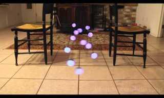 ריקוד כדורי האור - אפקט פיזיקלי מדהים!