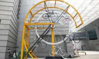 מתקנים מעוצבים לקשירת אופניים מהעולם