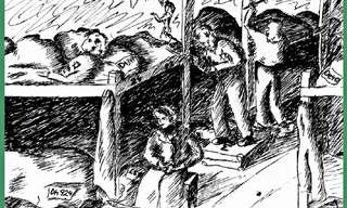 ציורי ילדים מתקופת השואה