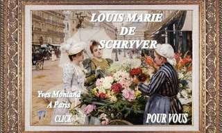 ציוריו של לואיס מארי שרייבר