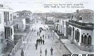 תמונות היסטוריות מהעבר של העיר תל אביב