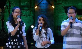 """ילדי בית הספר למוזיקה מפתיעים את השופטים בשיר """"חורף 73"""""""