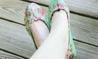 9 רעיונות קלים ויצירתיים לחידוש נעלי הקיץ