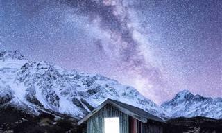 צילומים עוצרי נשימה של שמי ניו זילנד בלילות החורף