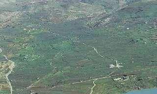 טוסו מעל נופי ישראל