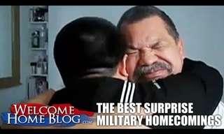 חיילים מפתיעים את יקיריהם - מרגש!