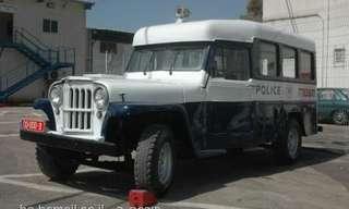 נוסטלגיה - רכבי משטרת ישראל של פעם
