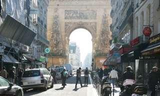אז והיום - רחובות פריז בהפרש של מאה שנה