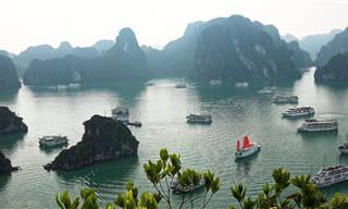 סיור במפרץ הא לונג בווייטנאם באיכות 4K
