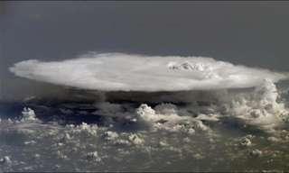 הצד האחר של העננים - תמונות מהפנטות!