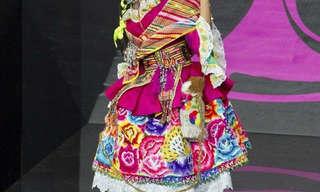 מתמודדות מיס יוניברס בלבוש מסורתי
