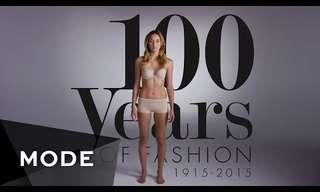 100 שנות אופנה נשית בשתי דקות