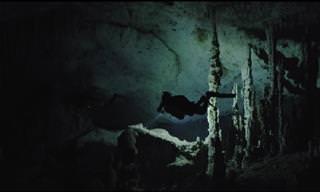 סרטון מרתק המתעד את המערות התת ימיות בחצי האי יוקטן