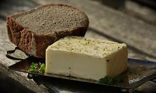 יתרונותיהם הבריאותיים של 10 סוגי חמאה שונים