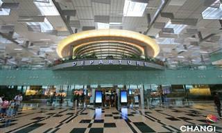סינגפור צ'נגי - נמל התעופה המדהים שלא תרצו לעזוב!
