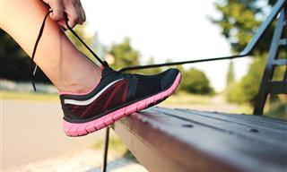 איך לקשור שרוכים בהתאם לבעיות בכפות הרגליים