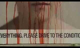 שלט מדמם ככלי במלחמה בתאונות הדרכים