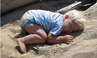 ילדים חמודים שפשוט לא יכלו להישאר ערים