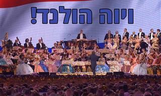 מופע מוזיקלי סוחף במיוחד של המנצח האהוב אנדרה ריו