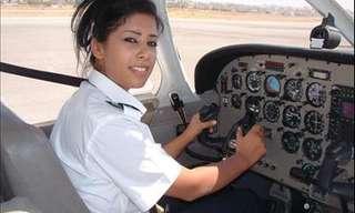 גילה שיש טייסת במטוס וסירב להמריא