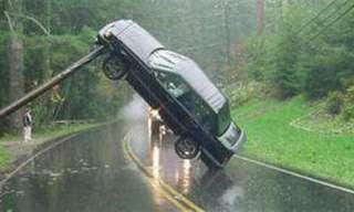 זירות התאונה ההזויות ביותר