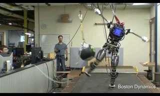 הכירו את אטלס - הרובוט שיכול לטפס הרים