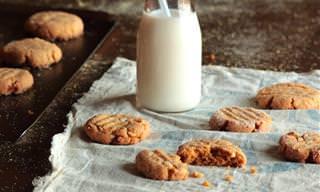 מתכון לעוגיות חמאת בוטנים ופולנטה
