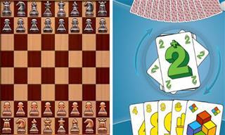 8 משחקי לוח וקלפים קלאסיים להורדה בחינם לסמארטפון