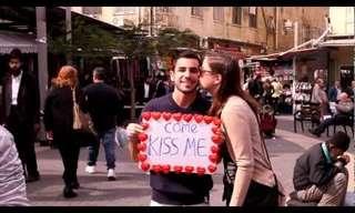 מפגן אהבה ברחובות תל אביב
