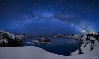 שמי לילה מוארים בכוכבים - מדהים!