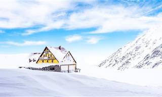 14 תמונות מרהיבות של רומניה בחורף