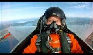 נורווגיה במבט ממטוס קרב - נוף מהפנט!