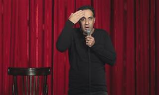 מופע מצחיק של רוני ששון על גברים נשים וניקיון הבית