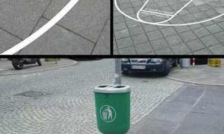 פרסומות יצירתיות על הנוף העירוני