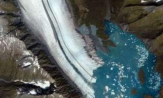 קרחונים במבט מהחלל!