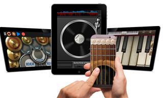 6 אפליקציות כלי נגינה לסמארטפון