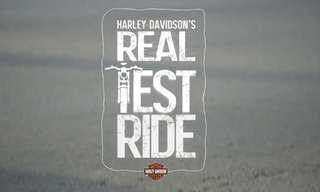 הארלי דיווידסון מדגימים מהי נסיעת מבחן