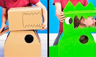 14 רעיונות למשחקי ילדים שאפשר ליצור לבד
