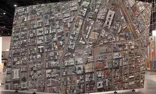 תצלום האוויר הענקי של יוהנסבורג
