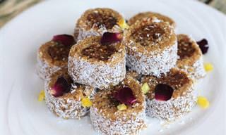 5 מתכונים למנות מתוקות במיוחד מפירות יבשים