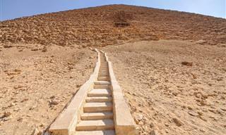 סיפורן של 8 פירמידות מיוחדות במצרים