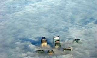 תמונות מדהימות שצולמו ממטוסים