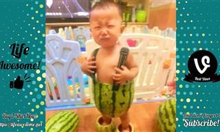 סרטון קורע מצחוק על ילדים במצבים משעשעים במיוחד