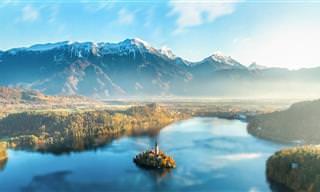 מפה אינטראקטיבית שתציג בפניכם 16 מקומות נפלאים בסלובניה