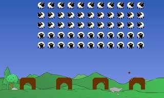 פלישת הכבשים