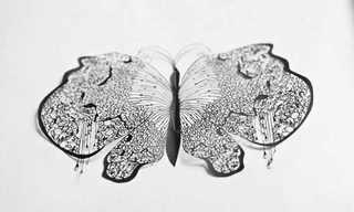 יצירות אמנות מדהימות במספריים